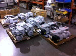 Leybold, SV-100B, vacuum pumps
